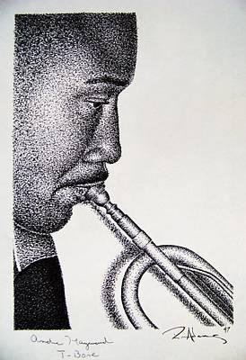 Drawing - T-bone by Reginald Charles Adams