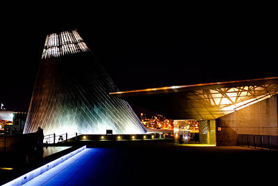 Glass Photograph - Tacoma's Museum Of Glass by David Patterson