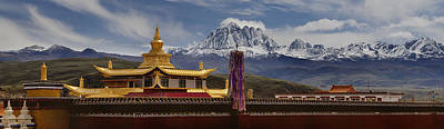 Tagong Si Monastery Buddhist Temple Print by Phil Borges
