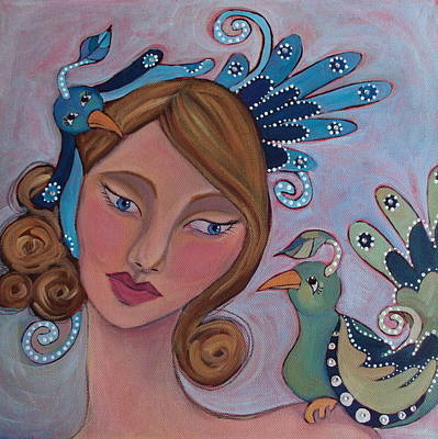 Taking Flight Print by Suzanne Drolet