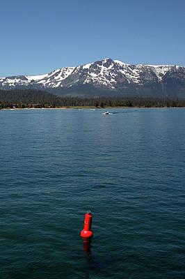 Lake Tahoe Photograph - Tallac Red Buoy Lake Tahoe by LeeAnn McLaneGoetz McLaneGoetzStudioLLCcom