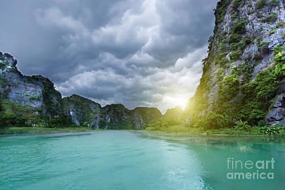 Binh Photograph - Tam Coc National Park by MotHaiBaPhoto Prints