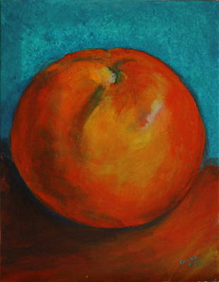 Tangerine Painting - Tangerine by Gitta Brewster