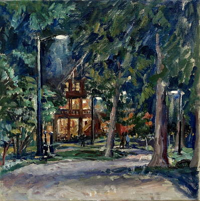 Tanglewood Nocturne Original by Thor Wickstrom