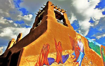 Taos New Mexico Photograph - Taos by Benjamin Yeager