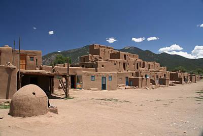 Elizabeth Rose Photograph - Taos Pueblo by Elizabeth Rose