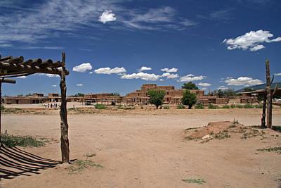 Elizabeth Rose Photograph - Taos Pueblo New Mexico by Elizabeth Rose