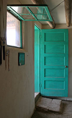 Elizabeth Rose Photograph - Taos Pueblo Shop Door by Elizabeth Rose