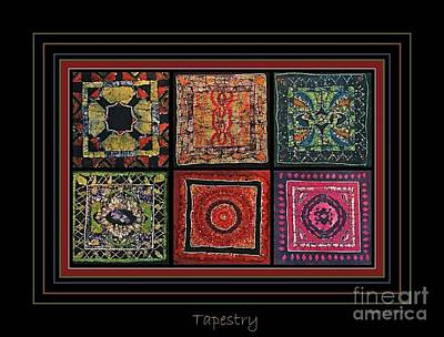 Tapestries Textiles Photograph - Tapestry At Best by Sherry Sparks