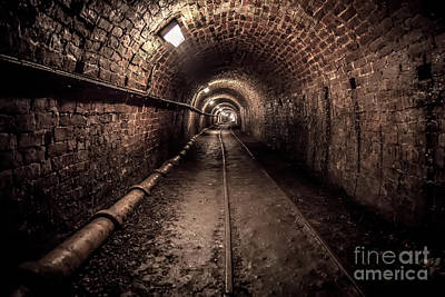 Tar Photograph - Tar Tunnel 1787 by Adrian Evans