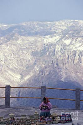 Mexico Photograph - Tarahumara Woman Copper Canyon Mexico by John  Mitchell