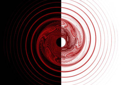 Circles Digital Art - Target by Betsy C Knapp