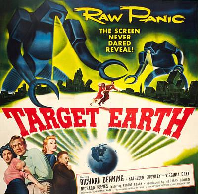 Target Earth, Bottom Left Kathleen Print by Everett