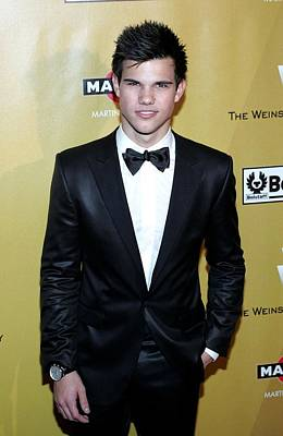 Taylor Lautner At The After-party Print by Everett