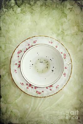 Mess Photograph - Tea Leaves by Stephanie Frey