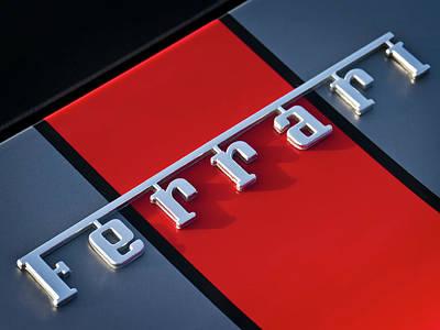 Team Ferrari Print by Douglas Pittman