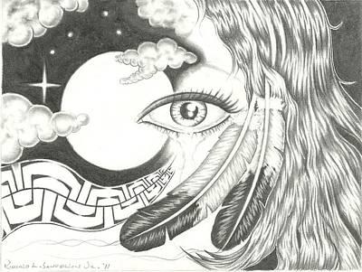 Tears Drawing - Tears Of Friendship by Jr Sanderson