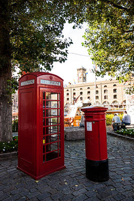 Mail Box Photograph - Telephone And Mail Box by Dawn OConnor
