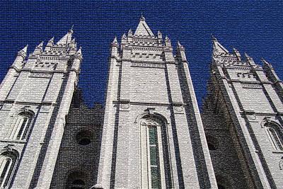 Temple At Salt Lake Original by Dennis Jones