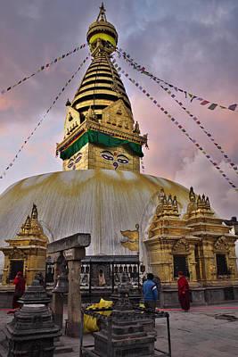 Nepal Photograph - Temple by Ivan Slosar