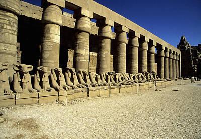 Y120907 Photograph - Temple Of Karnak, Luxor - Egypt by Hisham Ibrahim