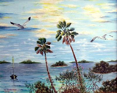 Painting - Ten Thousand Islands 2 by Riley Geddings