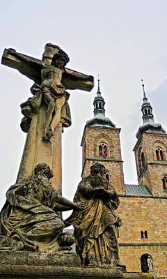 Tepla Monastery - Czech Republic Print by Juergen Weiss