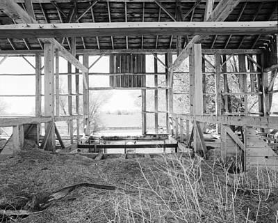 Tessman Barn Frame Original by Jan Faul