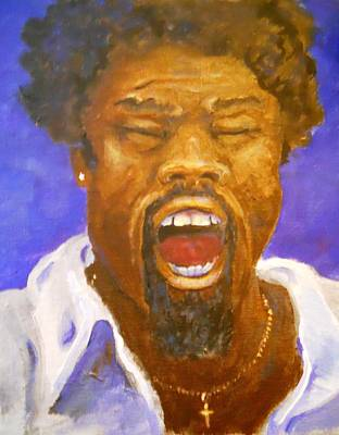 Shouting Painting - Testimony by Nyiece Pregeant Owens