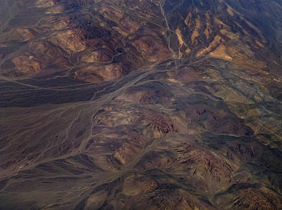 Mountain Scape Photograph - Textures Of Earth by Naman Imagery