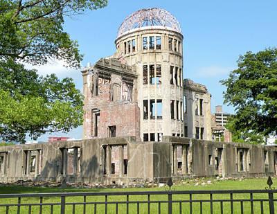 The A-bomb Dome In Hiroshima Print by Jessica Estrada