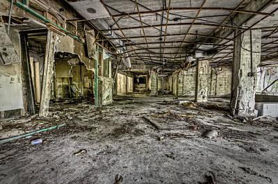 The Abandoned Building Print by Noah Katz