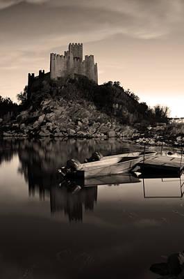 The Almourol Castle Original by Dias Dos Reis