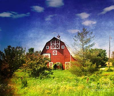 The Amish House Print by Susanne Van Hulst