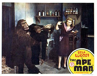 The Ape Man, From Left Emil Van Horn Print by Everett