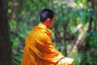 Pete Reynolds Photograph - The Art Of Meditation by Pete Reynolds