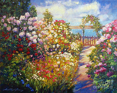 Pathway Painting - The Artists Dream Fantasy by David Lloyd Glover
