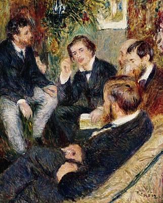 Saint George Painting - The Artist's Studio Rue Saint Georges by Pierre Auguste Renoir