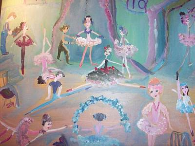 The Ballet Contest Original by Judith Desrosiers
