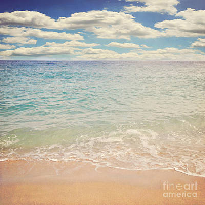 The Beach Print by Lyn Randle