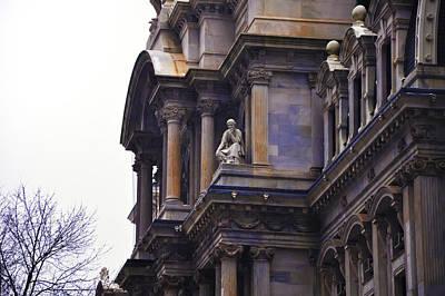 The Beauty Of Philadelphia City Hall Print by Bill Cannon