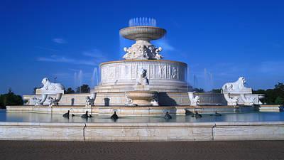 The Belle Isle Scott Fountain Original by Gordon Dean II