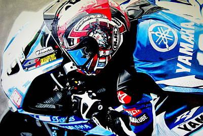 Valentino Rossi Art Drawing - The Ben by Jason  Watt