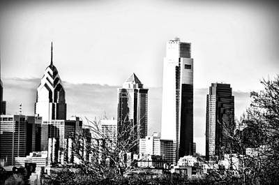 Cityscape Photograph - The Big Boys Of Philly by Bill Cannon