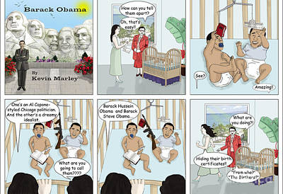The Birthers Print by Kevin  Marley