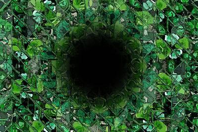 The Black Hole Print by Stefan Kuhn