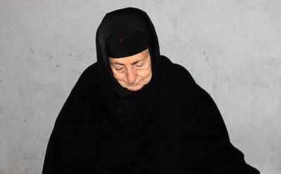 The Black Orthodox Veil Original by Munir Alawi
