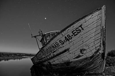 The Boat Print by Armando Carlos Ferreira Palhau