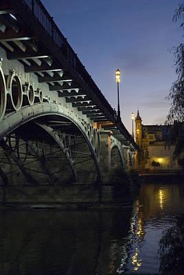 The Bridge Of Triana, Puente De Triana Print by Krista Rossow