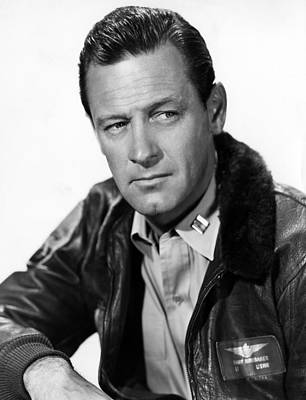 1955 Movies Photograph - The Bridges At Toko-ri, William Holden by Everett